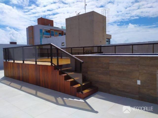 Apartamento com 2 dormitórios à venda, 63 m² por R$ 290.000,00 - Intermares - Cabedelo/PB - Foto 2