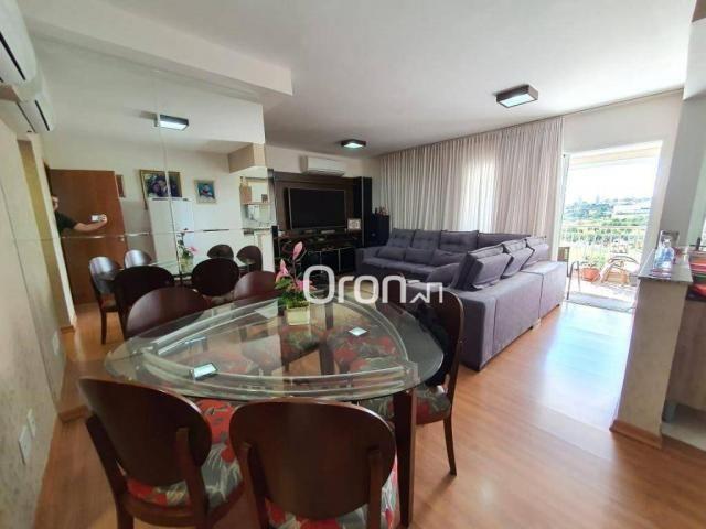 Apartamento com 3 dormitórios à venda, 106 m² por R$ 470.000,00 - Setor Goiânia 2 - Goiâni - Foto 3