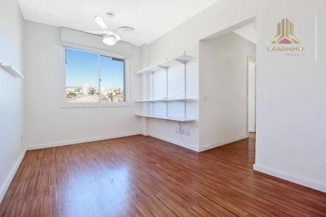 Apartamento de dois dormitórios com garagem imediações Carrefour da Bento