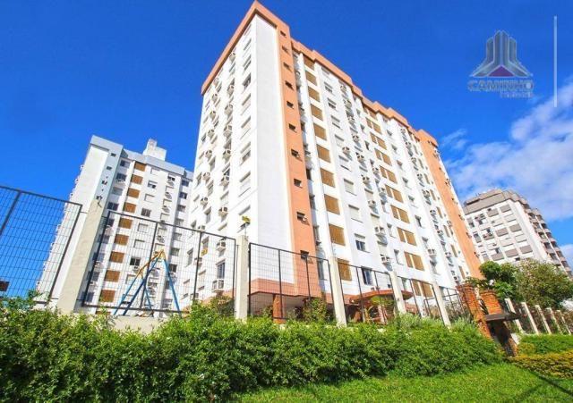 Apartamento de dois dormitórios com garagem imediações Carrefour da Bento - Foto 5