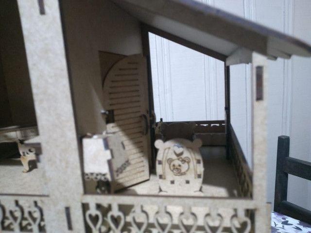 Casinha de boneca de 60cm - Foto 3