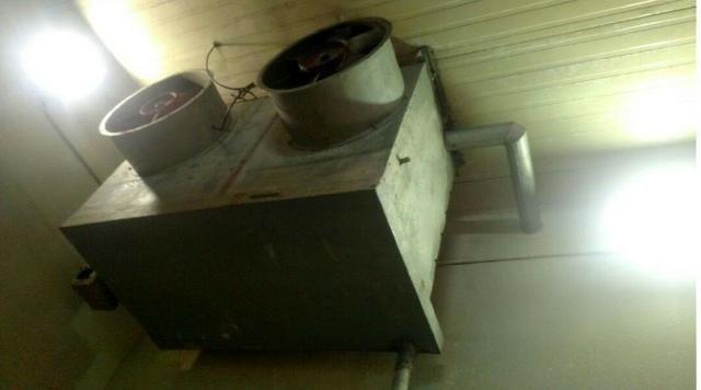 Evaporador 1 - Camara RF 7 - Evaporador Industrial Para Amônia - #3383