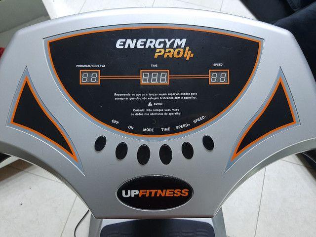 Plataforma Vibratória Up Fitness seminova  - Foto 5