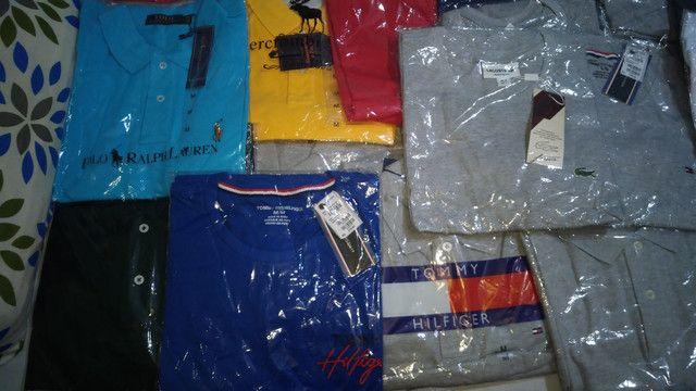 Lote de 29 camisas - Foto 3