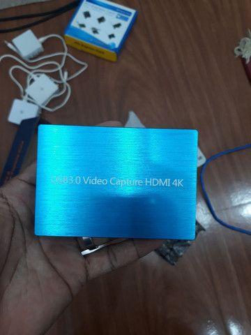 Placa de captura de Video USB HDMI 4k - Foto 6