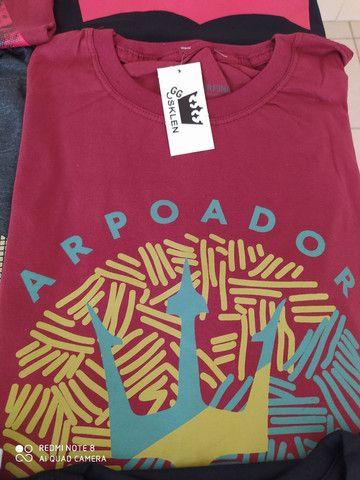 Camisetas Multimarcas kit com 5 - Foto 6