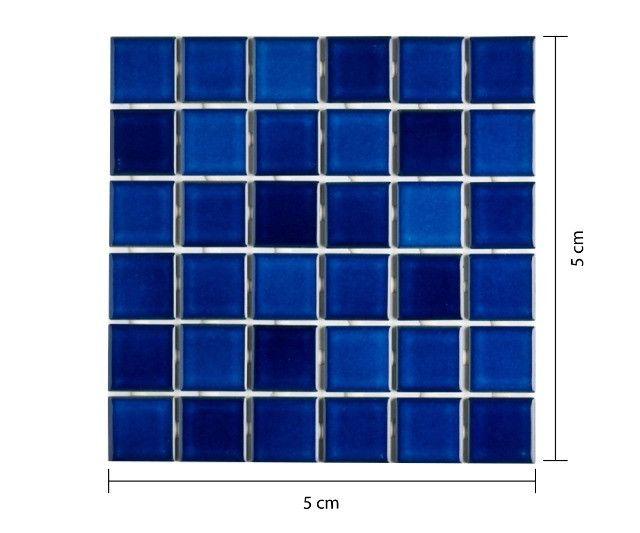 Pastilha Una ou Azul Equatorial 5x5 > Casa Nur - O Outlet do Acabamento - Foto 3