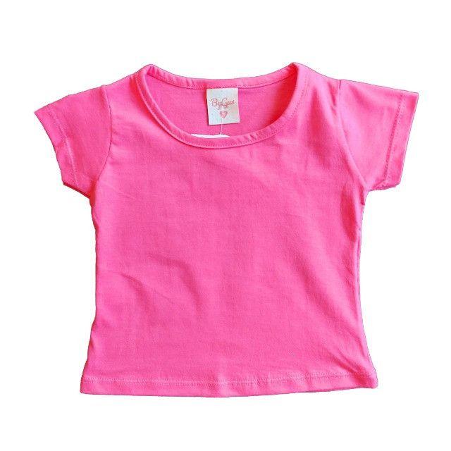 Conjunto Infantil Menina Blogueirinha Jardineiras para bebê Salopete - Foto 3