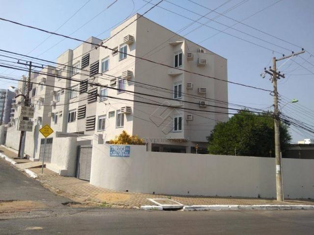 Apartamento no Edifício Juruena com 2 dormitórios à venda, 55 m² por R$ 145.000 - Araés -