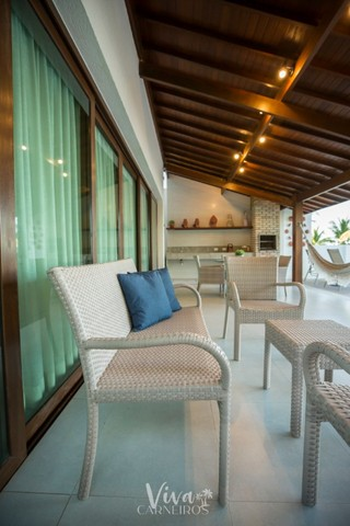 FA Casa beira mar na Praia dos Carneiros c/ 4 quartos - Foto 14