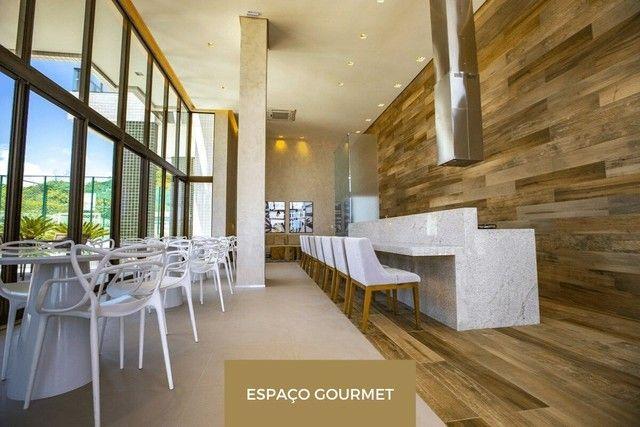 Edf Gran Marine, beira mar de Guaxuma: 114 m², 3/4, varanda gourmet - Foto 8