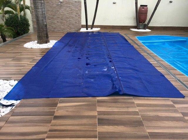 Capa térmica para piscina - lona
