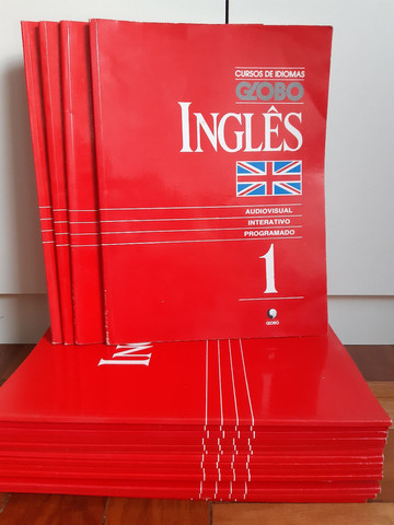 Coleção de livros inglês britânico (NUNCA USADOS)