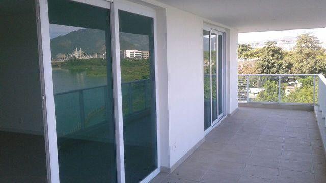 Apartamento para venda possui 123 metros quadrados com 3 quartos - Foto 3