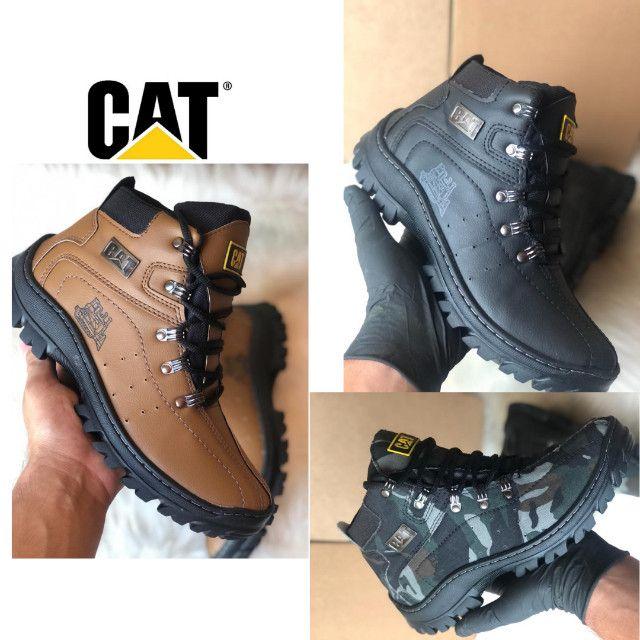 Lançamento adventure botas CAT confortável original Caterpillar  - Foto 4