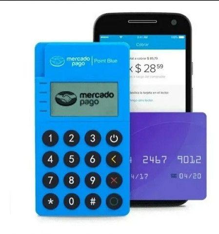 Máquina de passar cartão mercado pago. - Foto 2