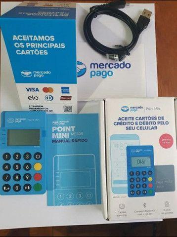 Máquina de passar cartão mercado pago. - Foto 3