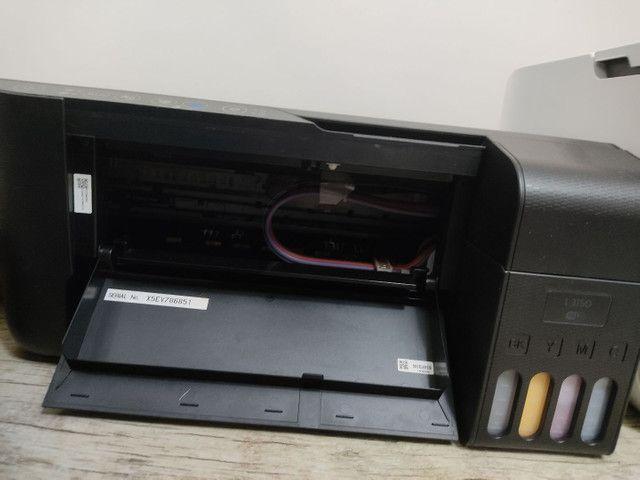 Impressora Epson L3150 + Tinta Gênesis - Sublimática - Foto 3