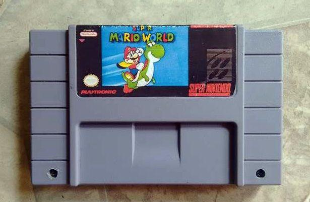 Cartucho Mario World Original