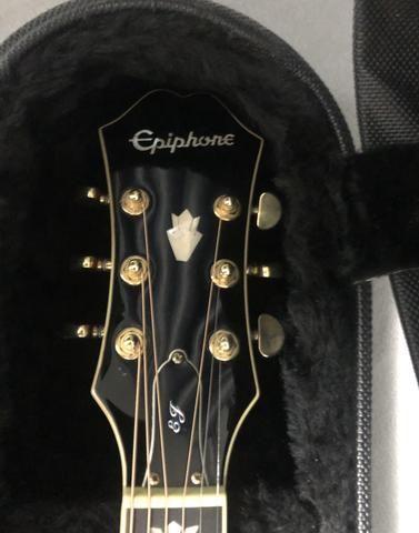 Violão epiphone EJ200CE - Foto 2