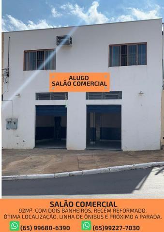 Alugo Salão Comercial - Bem localizado
