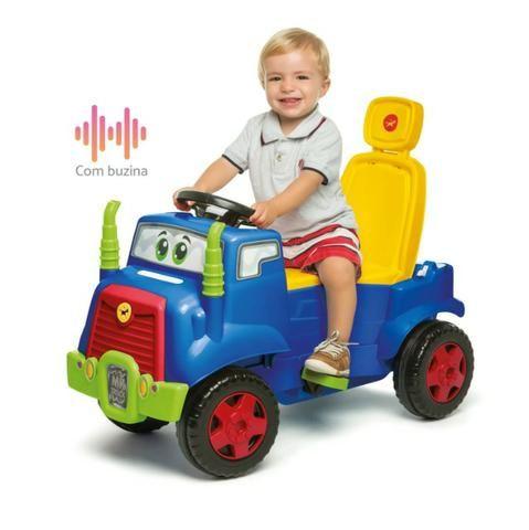 Carro de passeio Mk Truck Calesita Passeio e Pedal Em 12x de R$39,08 Sem Juros - Foto 2