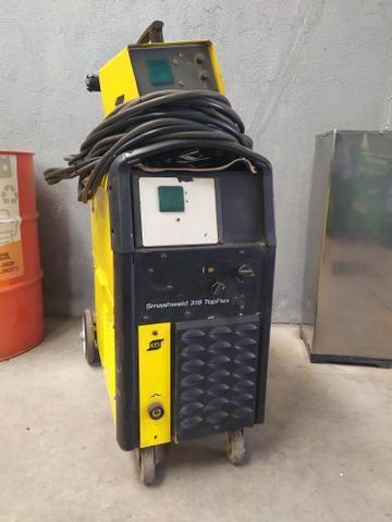 Máquina de solda MIG MAG Smashweld 318 Esab - Foto 3