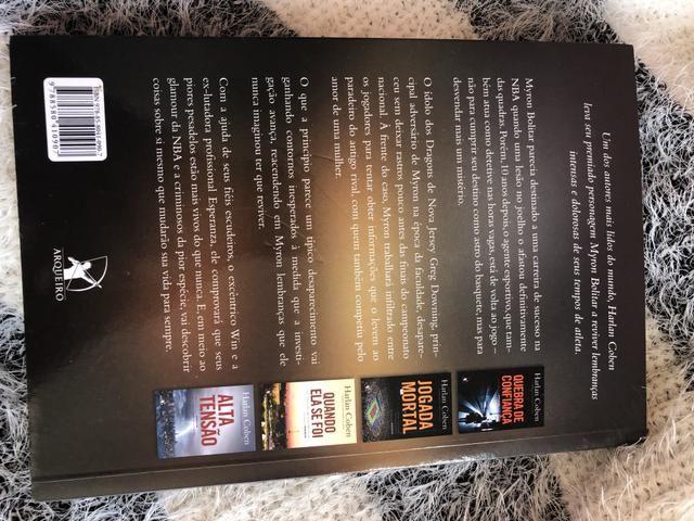 Livro: Sem deixar rastros - Harlan Coben - Foto 4