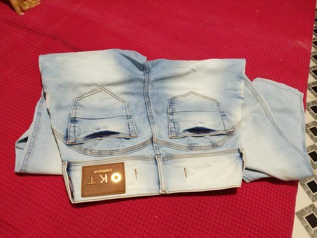 Calça n 38 pequeno , bermudas 36 , blusa pm - Foto 6