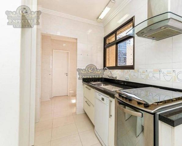 Apartamento para alugar, 176 m² por r$ 3.600,00/mês - bigorrilho - curitiba/pr - Foto 5