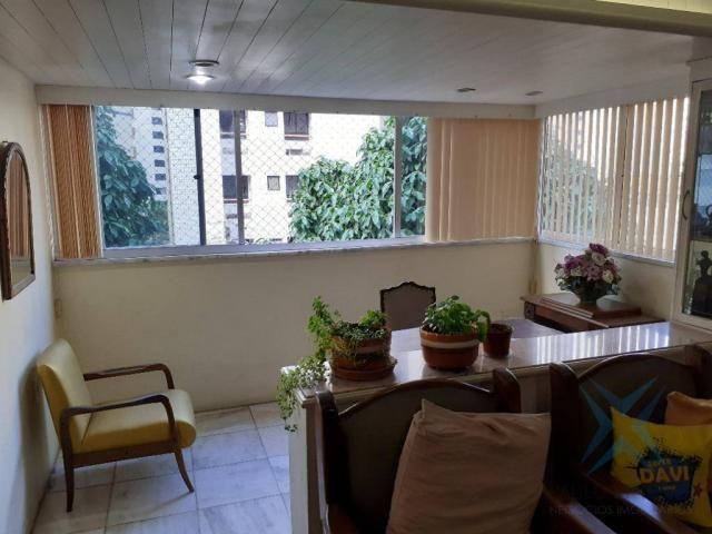 Apartamento com 3 dormitórios para locação ou venda, 150 m² por r$ 500.000 - meireles - fo - Foto 20