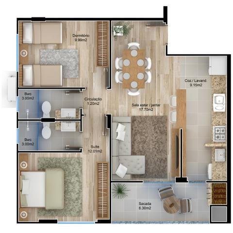 VA-Lindo apartamento em Camboriú! Confira! - Foto 2