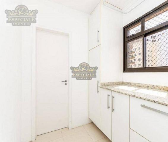 Apartamento para alugar, 176 m² por r$ 3.600,00/mês - bigorrilho - curitiba/pr - Foto 4