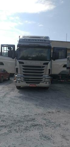 Vendo scania highline 2013 6x2 automática - Foto 7