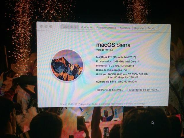 Macbook Pro 15 polegadas - Foto 4