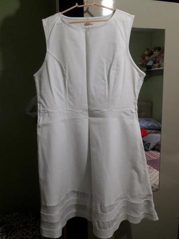 Vestido Branco Plus Size - Foto 4