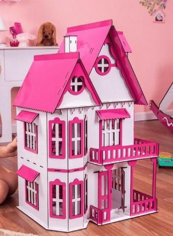 Casinha de Bonecas Escala Polly Modelo Mirian Sonhos - Darama - Nova