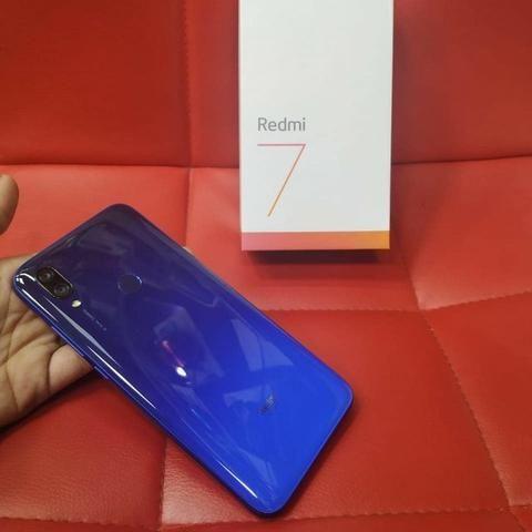 Xiaomi Redmi 7 64gb 3gb Rom Global/Novo Com Garantia 6 Meses/Azul - Foto 2