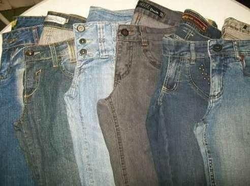 Brecho Lote Calça Jeans 300 peças Vários Tamanhos - Foto 2