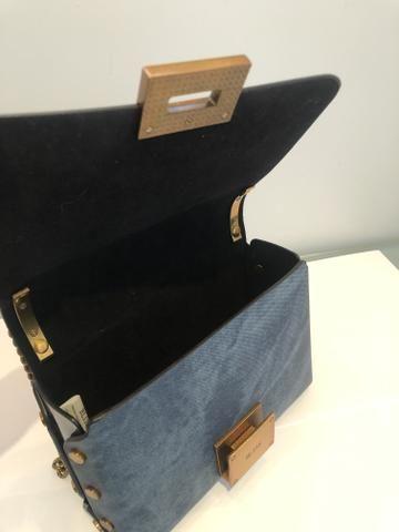 Bolsa Cor Azul Claro - Foto 4