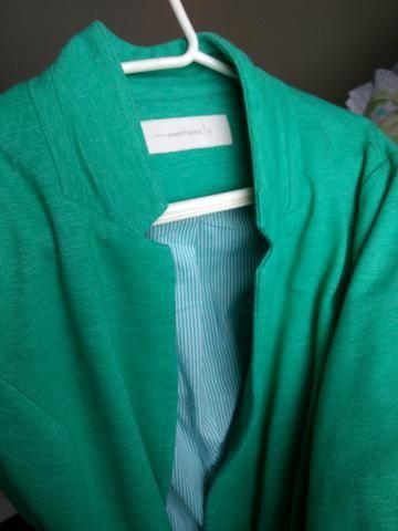 Blaser feminino verde