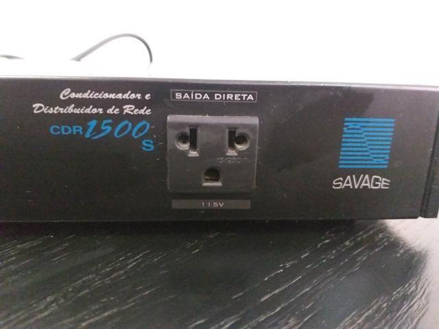Distribuidor e Condicionador de rede SAVAGE modelo CDR 1500 - Foto 2