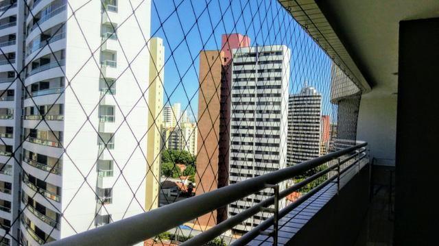 Apartamento projetado no Meireles 117m, 2 suítes com closet, Escritório, 3 vagas - Foto 6