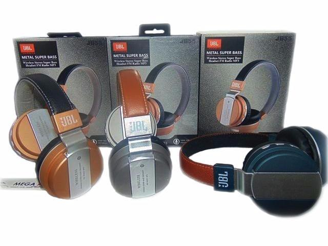 Fone De Ouvido Jb-55 Wireless Bluetooth Headset Sem Fio Mp3 sd - Foto 4