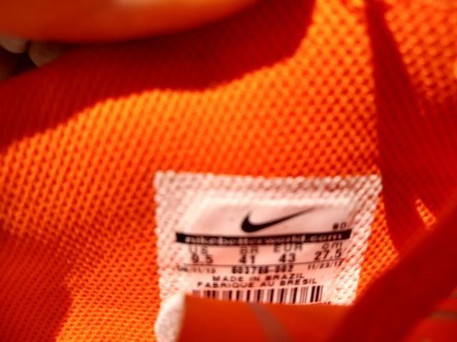 Chuteira Nike tamanho 41 novíssima - Foto 2