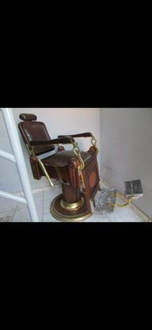 Cadeira de barbeiro vintage