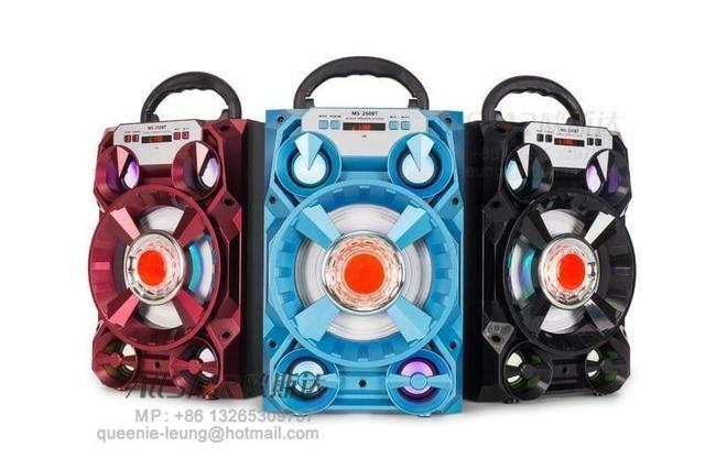 Caixa de Som 5 Alto-falantes Bluetooth Portatil Amplificada - Foto 5