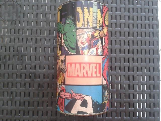 Cofre Vintage Heróis da Marvel - Muito Novo !!! P/ Colecionadores !!!