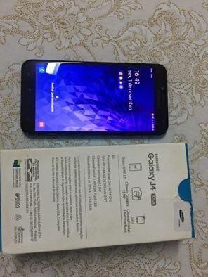 PARA VENDER HOJE !! Celular J4 32gigas+ 16gigas(cartão de memória) - Foto 2