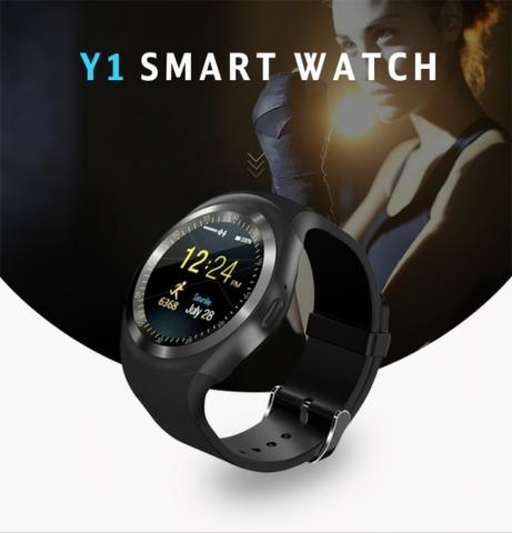 Relógio Bluetooth Smart Watch Y1 Android E Ios Tomate Tr02 - Foto 6